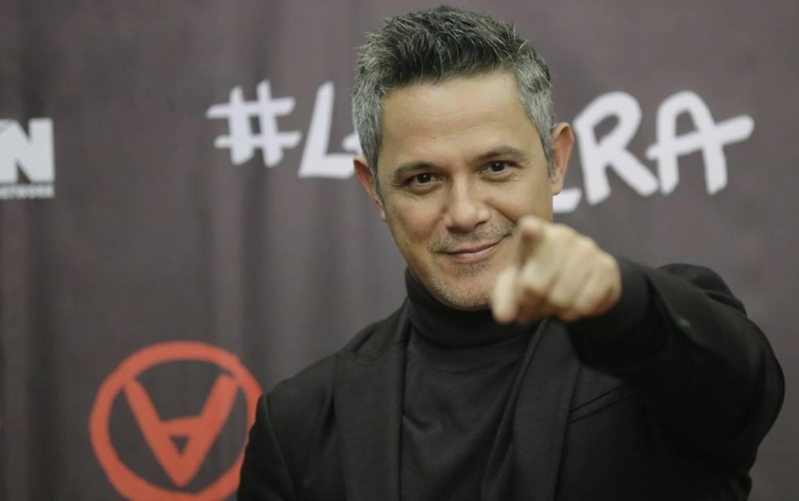 estrella de la fama Alejandro Sanz