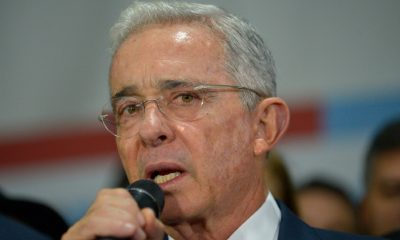 Álvaro Uribe expresidente Colombia