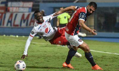 América de Cali perdió los dos encuentros que disputó con Cerro Porteño en esta Copa Libertadores. NORBERTO DUARTE / AFP