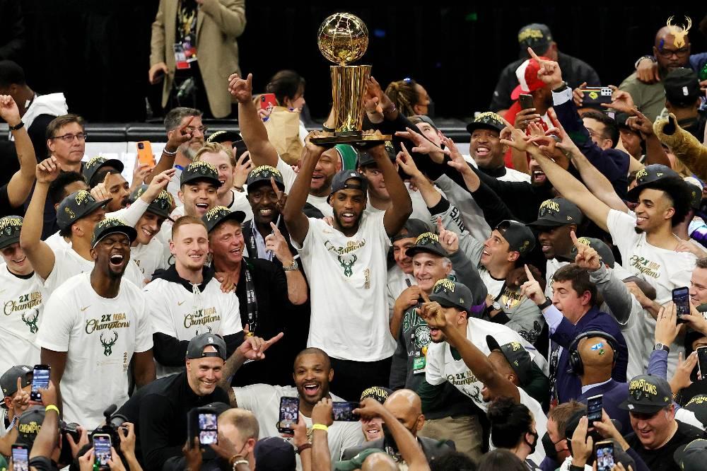 Bucks campeón de la NBA