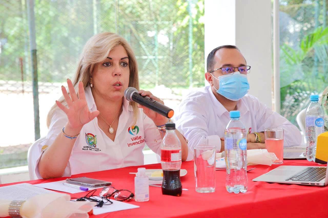 Clara Luz Roldán Gobernación Valle del Cauca