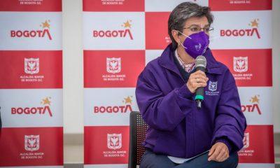 Claudia López alerta roja Bogotá