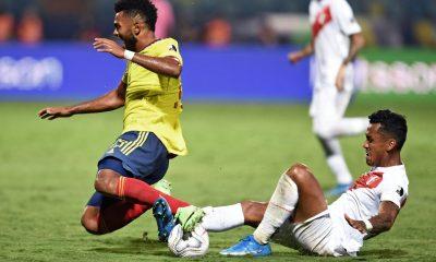 Colombia derrota Perú