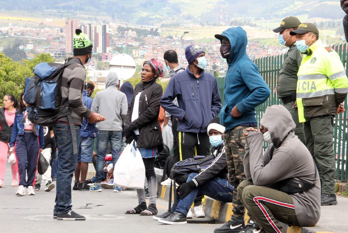 Migrantes haitianos frontera ecuador