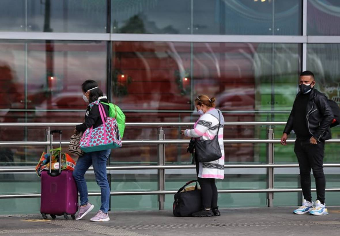Colombianos que viajan a España