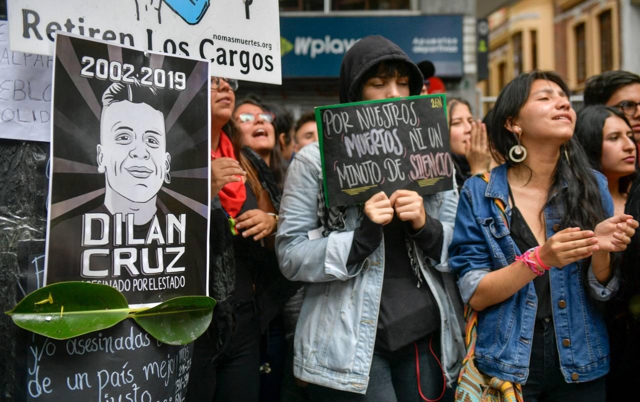Caso Dilan Cruz en Colombia