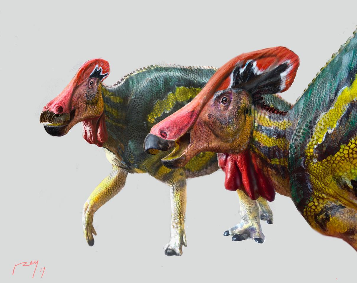 Dinosaurio platicador