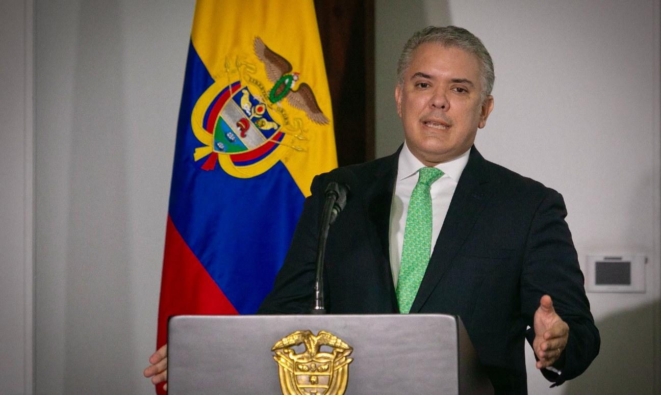 Presidente Ivan Duque Colombia