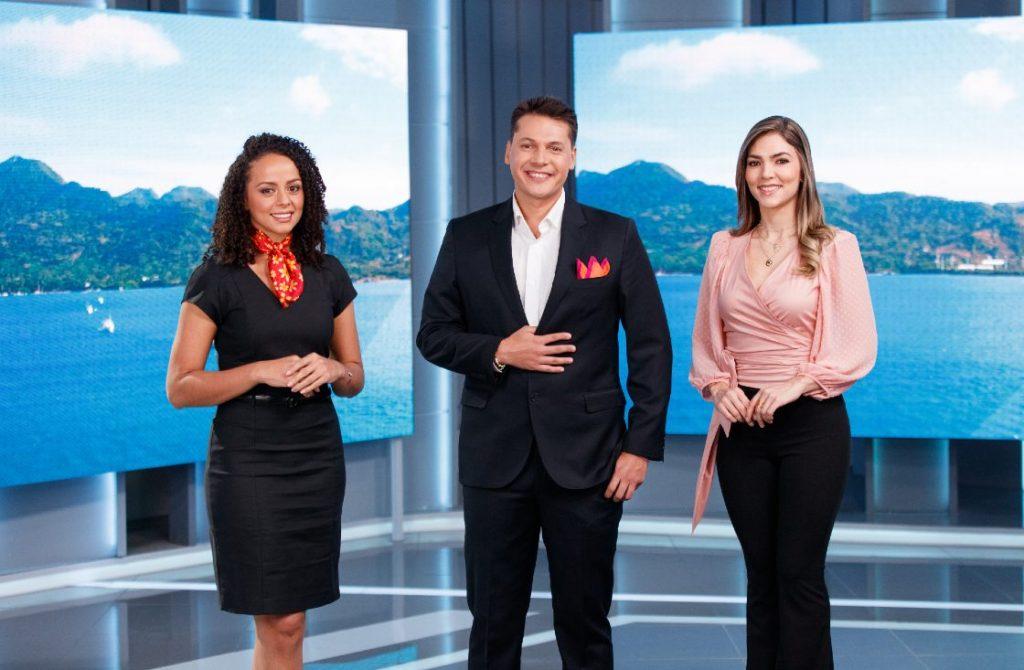 Damaris Rodríguez, Camilo Pérez y Lina Arbeláez