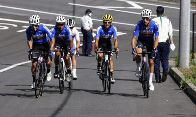 Equipo ciclismo Colombia Tokio