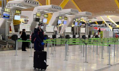 España restricción viajeros Brasil y Sudáfrica