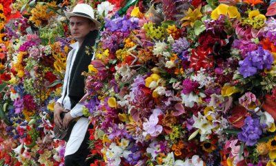 Feria flores vacunados
