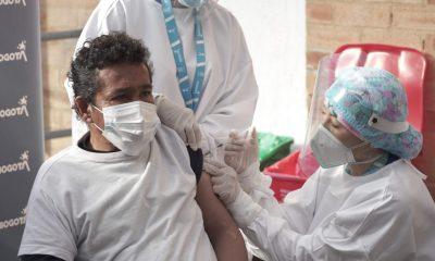 Vacunación personas habitantes de Calle