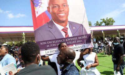 Funeral del presidente de Haití
