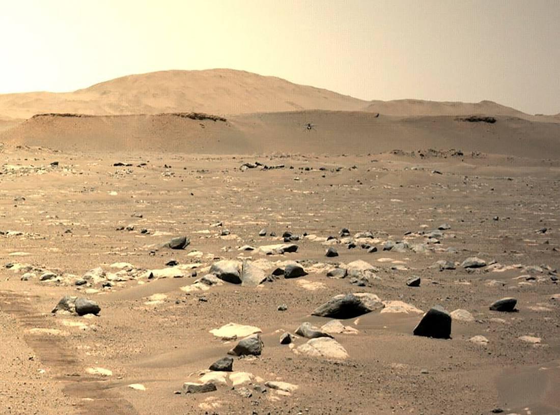 Ingenuity vuelo Marte