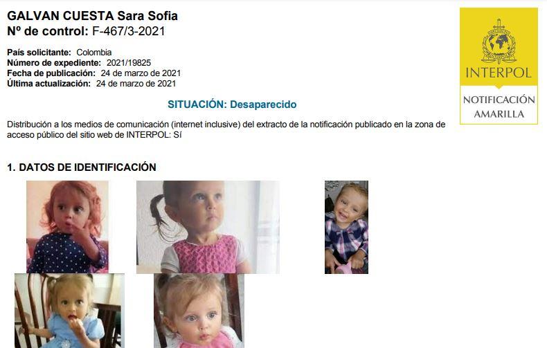 Interpol circular amarilla Sara Sofía Galván