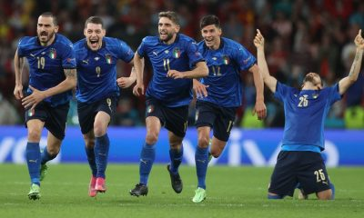 Italia finalista de la Eurocopa