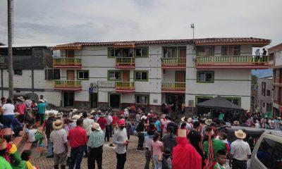 Ituango desplazados invierno