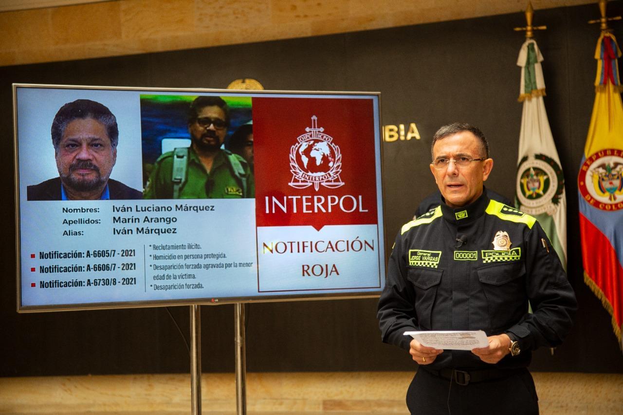 Ivan marquez circular interpol