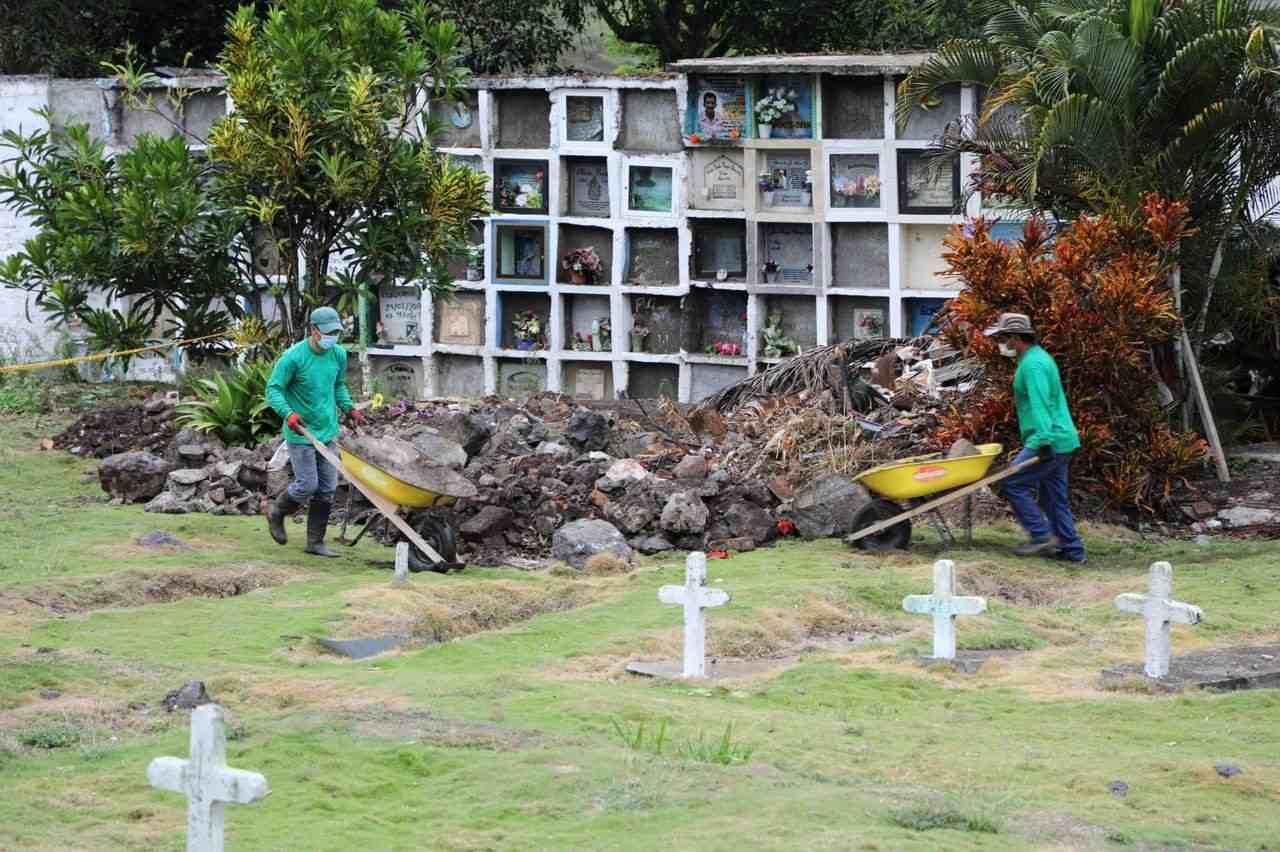 Cementerio en Colombia