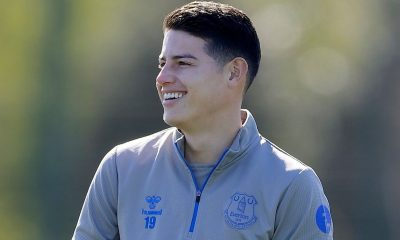 James Rodríguez Everton