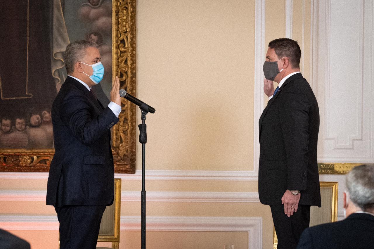 Juan Carlos Pinzón nuevo embajador de Colombia en EE.UU