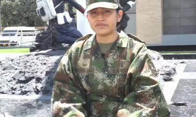 La primera mujer wayuu suboficial del Ejército