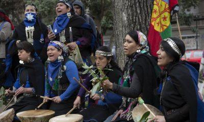 manifestaciones Mapuches en Chile