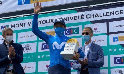 Miguel Ángel López Mount Ventoux