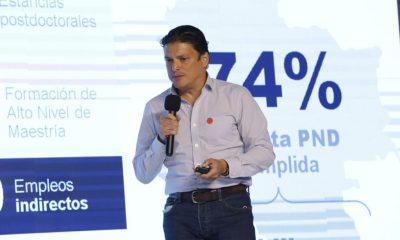 Tito Crissien, ministro de Ciencia, Tecnología e Innovación.