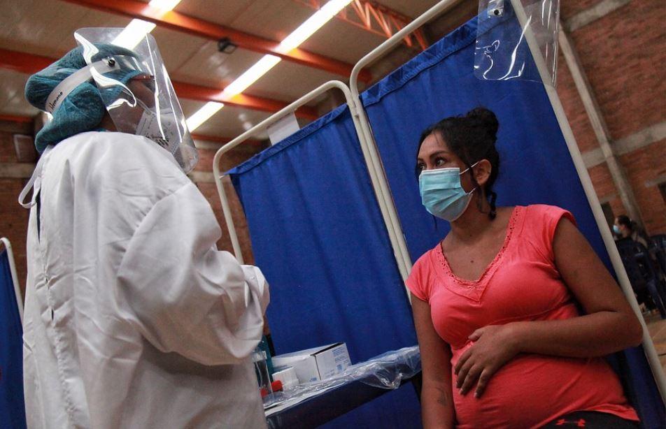 Mujeres lactantes vacuna