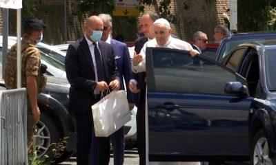Papa francisco alta medica