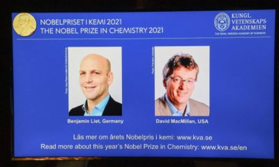 Ganadores premio Nobel de Química