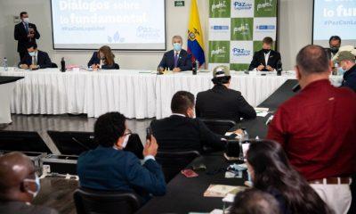 Presidente Iván Duque reunión alcaldes PDET