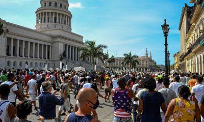 Protestas en Cuba