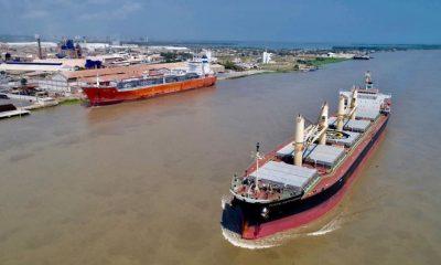 Canal acceso puerto Barranquilla