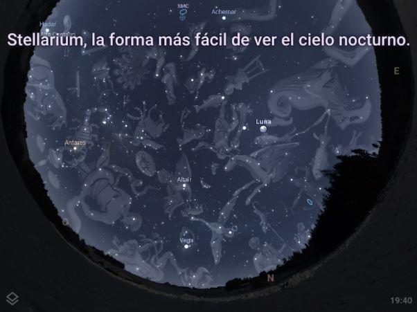 Foto: Stellarium Mobile
