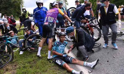 Caída Tour de Francia