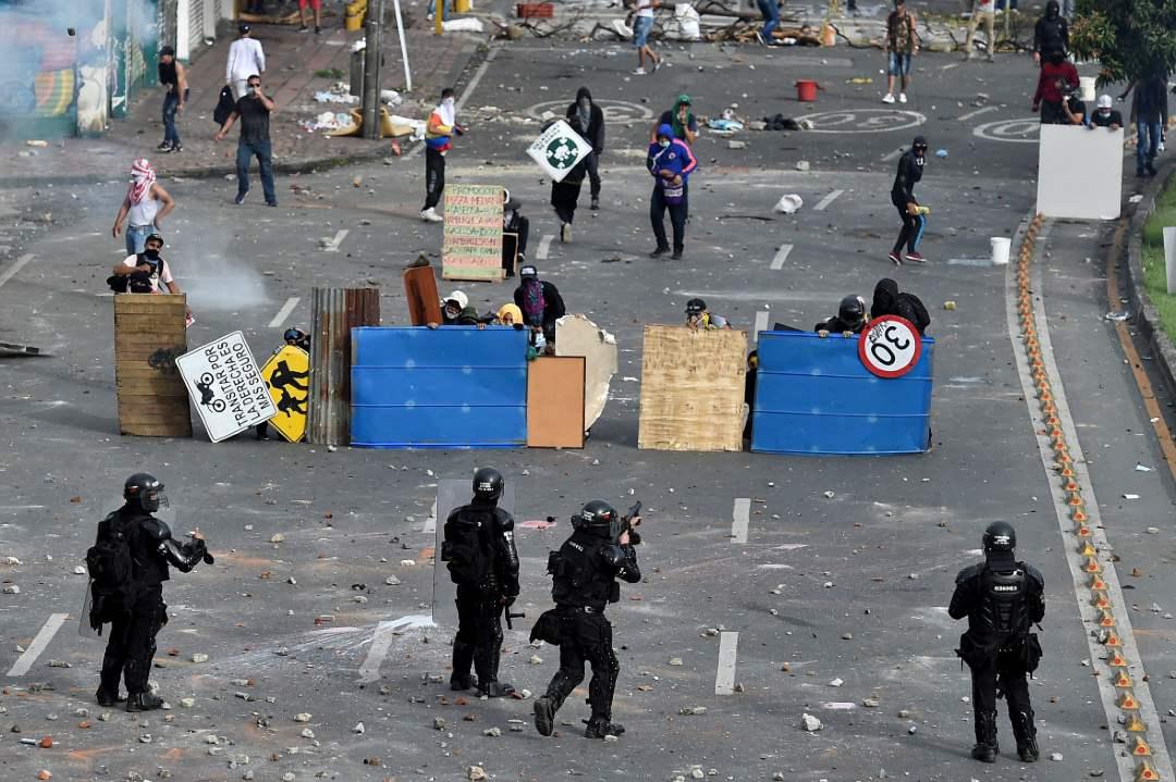 Unión Europea manifestaciones Colombia