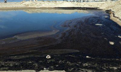 derrame de petróleo California