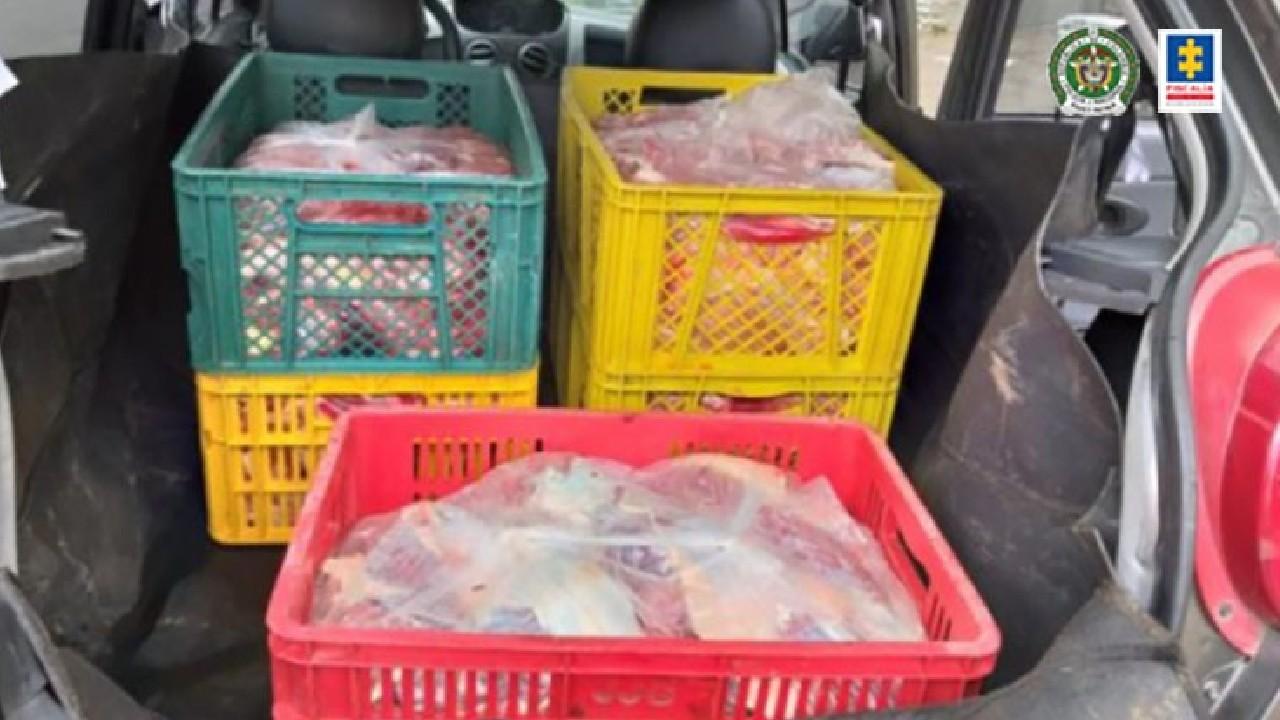 Comercializan comercializan carne de burro
