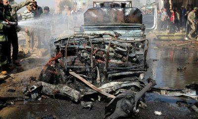Carro bomba en Siria