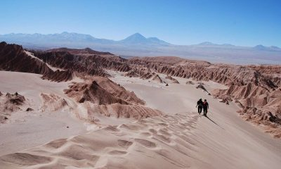 venezolanos cruzan desierto Atacama