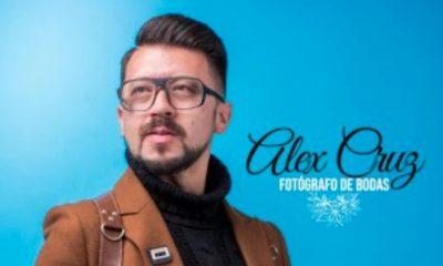 Fotografía de Alex Cruz de perfil de redes sociales