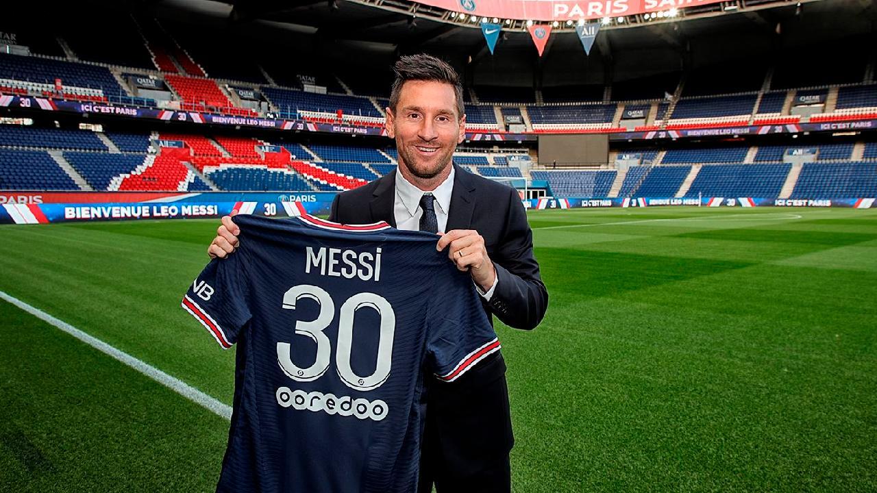 Por qué Lionel Messi usará el dorsal 30 en el PSG?