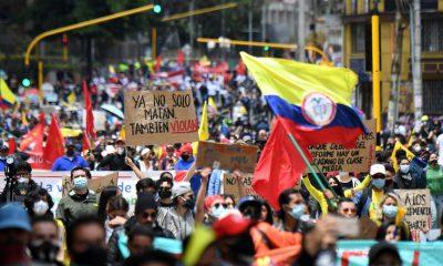 Manifestaciones en Colombia durante Paro Nacional
