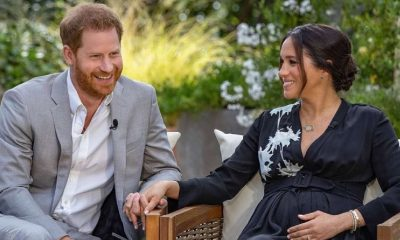Meghan Markle y el príncipe Harry en entrevista