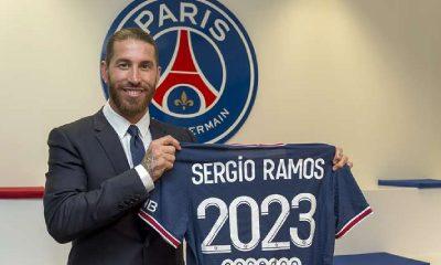Sergio Ramos en el PSG