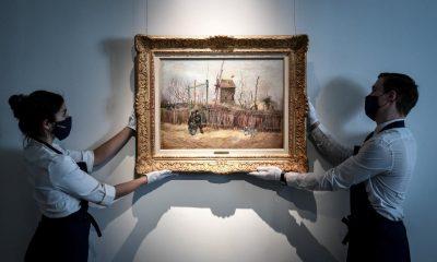Subasta Van Gogh. Foto: AFP