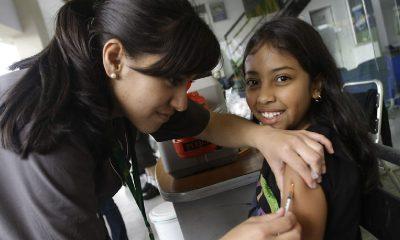 vacunación de sarampión y rubéola en todos los colegios del país